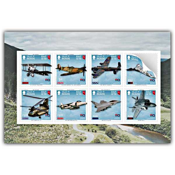 100 Years of the Royal Air Force Self Adhesive Pane CTO