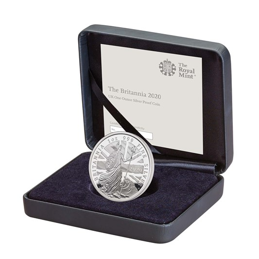 2020 Britannia One Ounce Silver Proof Coin