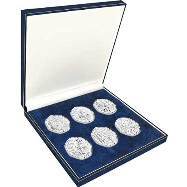 Peter Pan 2020 50p Coin Set