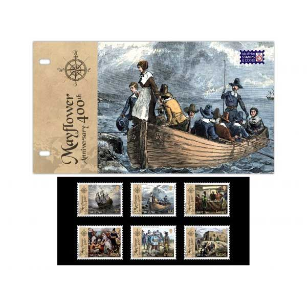 The 400th Anniversary of the Mayflower Presentation Pack