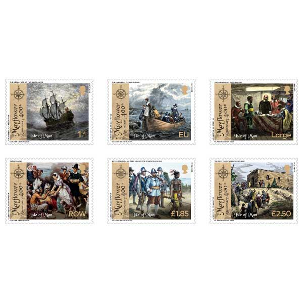 The 400th Anniversary of the Mayflower Set (Mint)