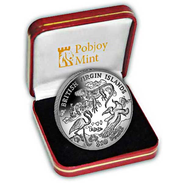 The Archipelago and Wildlife 2018 Silver Coin