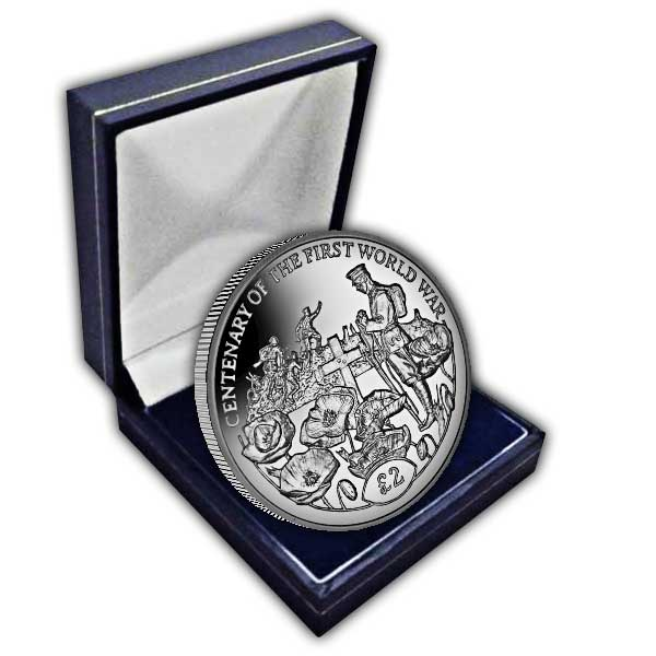 Centenary of the First World War: Tomb of the Unknown Soldier 2018 Cupro Nickel Coin