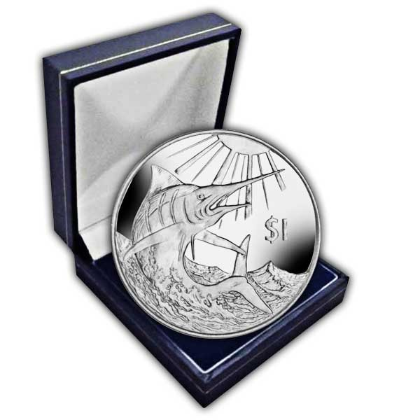 The 2017 Blue Marlin Cupro Nickel Coin