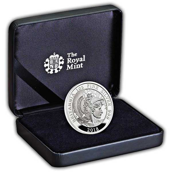 Britannia 2018 UK One-Ounce Silver Proof Coin