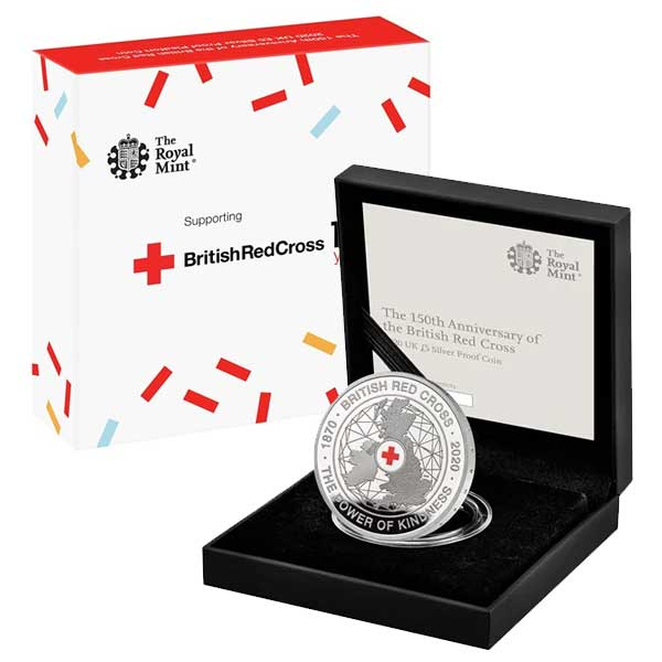 British Red Cross 2020 UK £5 Silver Proof Coin