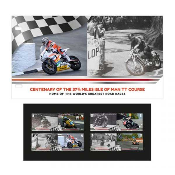 Centenary of the 37¾ miles Isle of Man TT Course Presentation Pack