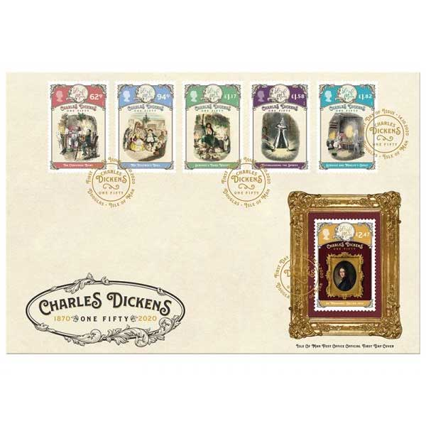 Charles Dickens One- Fifty First Day Cover