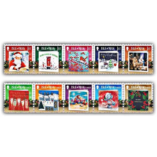 Christmas Cards Mint Set
