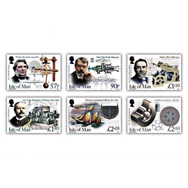 Eminent Victorian Engineers Set (Mint)
