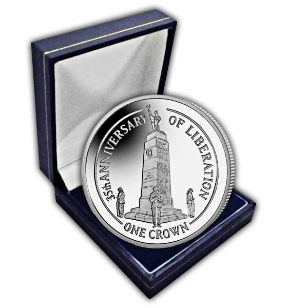 Falklands Liberation 35th Anniversary 2017 Cupro Nickel Coin