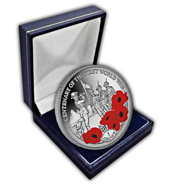 Centenary of the First World War: Last Post 2018 Cupro Nickel Coloured Coin