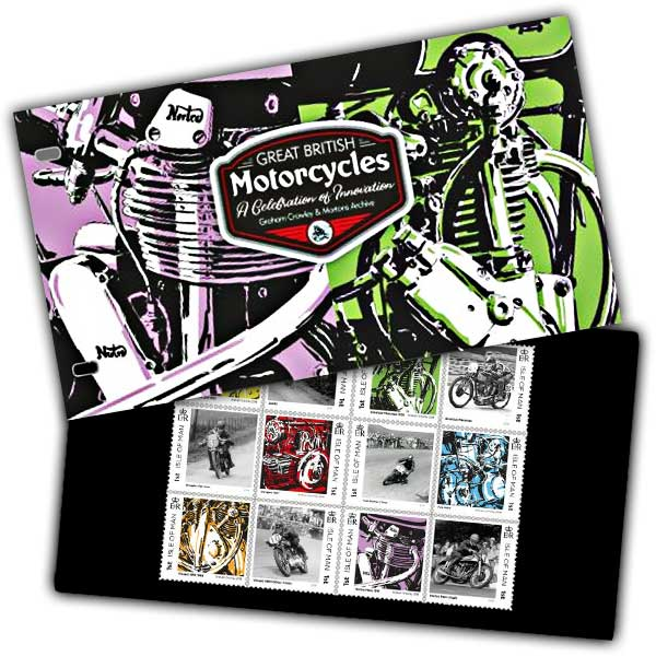 Great British Motorcycles Presentation Pack