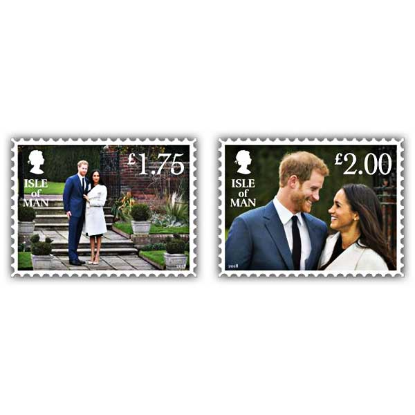 Harry & Meghan - A Celebration Stamp Set (Mint)