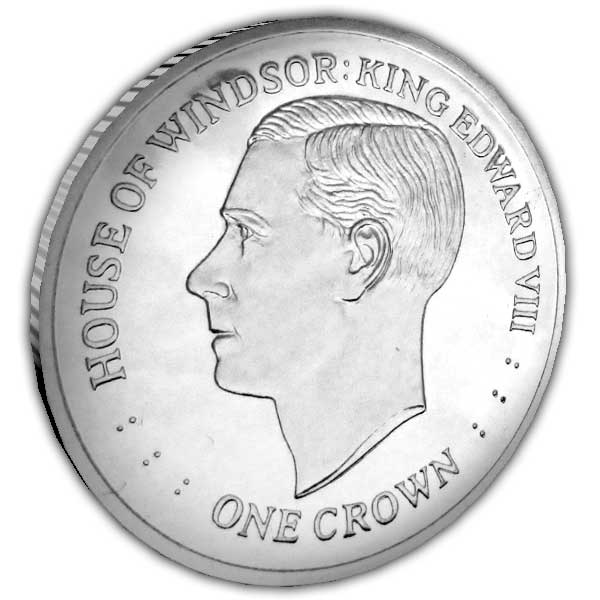 The House of Windsor 2017 King Edward VIII Cupro Nickel Coin