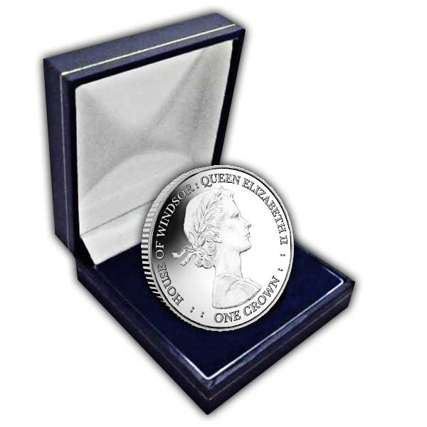 The House of Windsor 2017 Queen Elizabeth II Cupro Nickel Coin