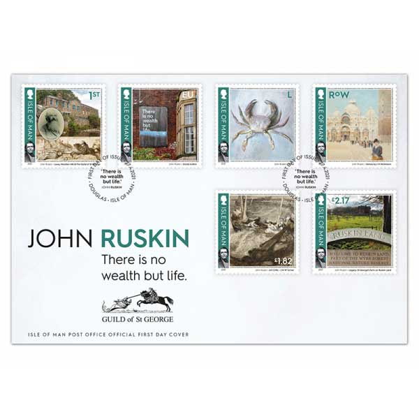 John Ruskin First Day Cover