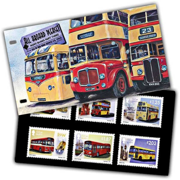 Manx Buses Part Three Presentation Pack