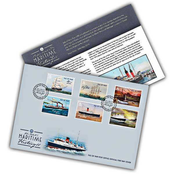 Maritime History II First Day Cover