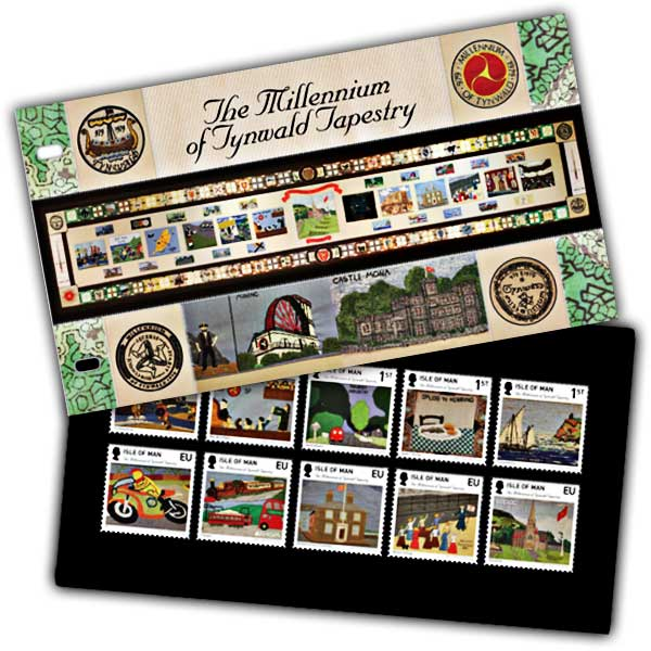 Millennium of Tynwald Tapestry Presentation Pack