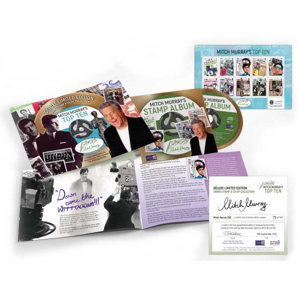 Mitch Murray Deluxe Limited Edition Signed Stamp & CD-EP Collection