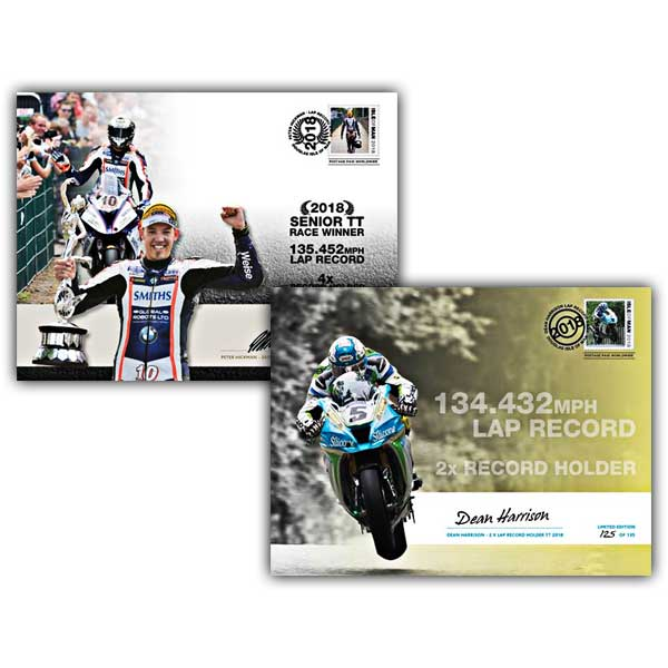 Peter Hickman and Dean Harrison – Lap Record Covers