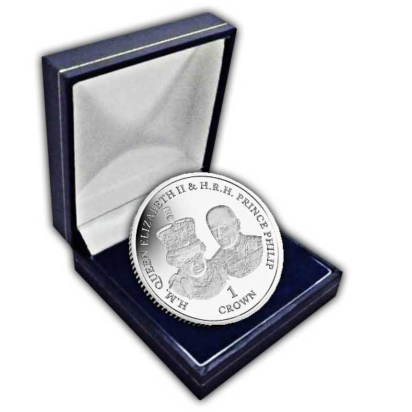 Platinum Wedding Anniversary ''State Opening of Parliament'' 2017 Cupro Nickel Coin