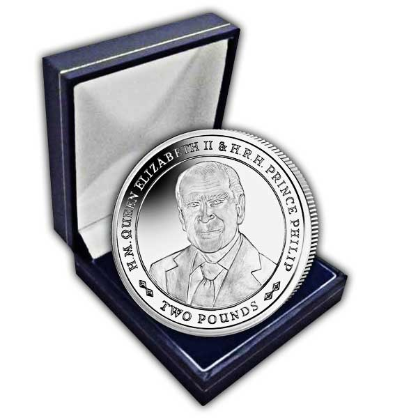 Platinum Wedding Anniversary ''Portrait of Prince Philip'' 2017 Cupro Nickel Coin