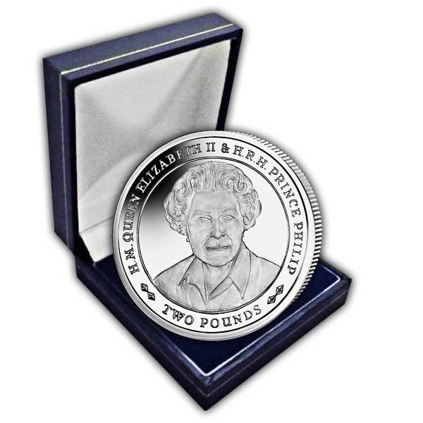 Platinum Wedding Anniversary ''Portrait of Queen Elizabeth'' 2017 Cupro Nickel Coin