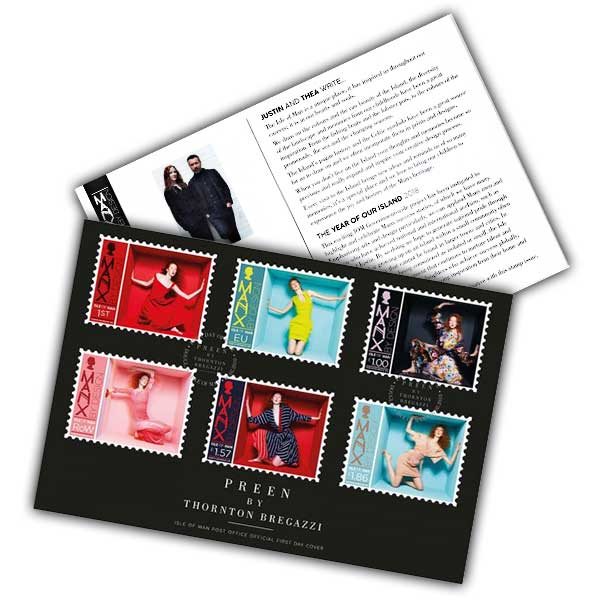 Preen by Thornton-Bregazzi Stamp First Day Cover