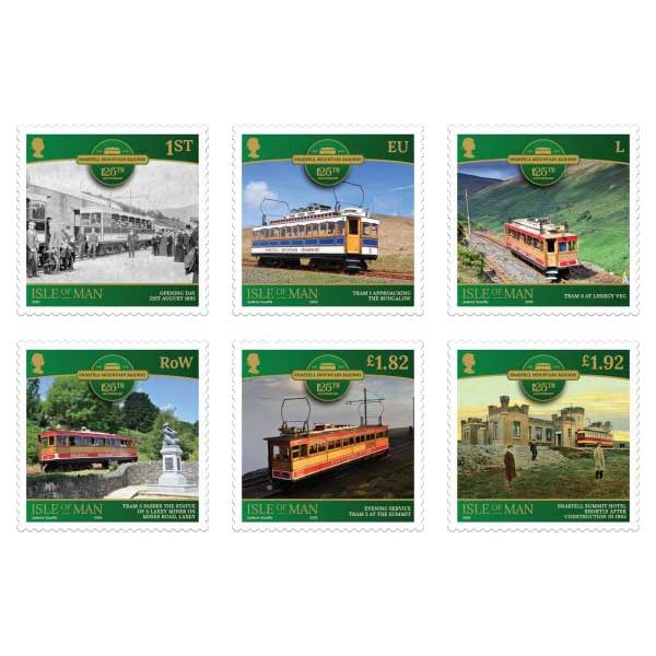 Snaefell Mountain Railway Set (Mint)