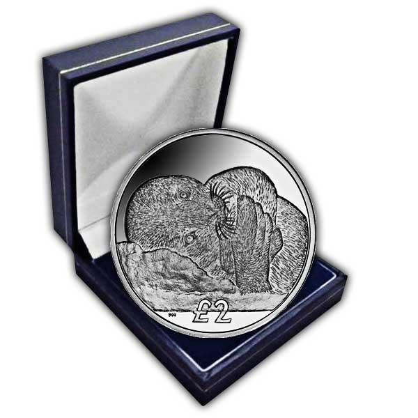 The 2013 Weddell Seal Pup Cupro Nickel Coin