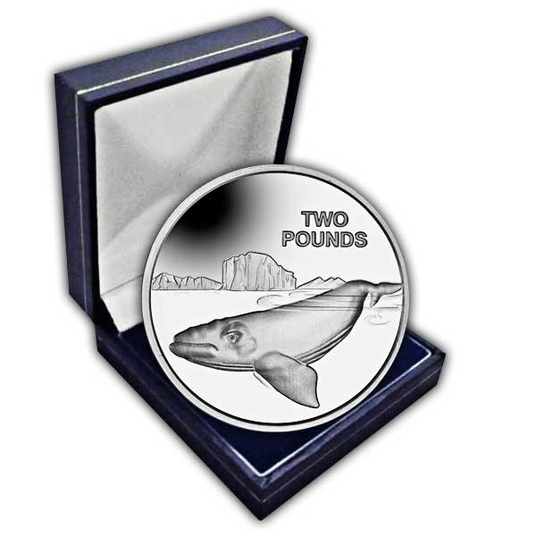 The 2017 Southern Right Whale Cupro Nickel Coin