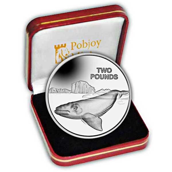 The 2017 Southern Right Whale Silver Coin