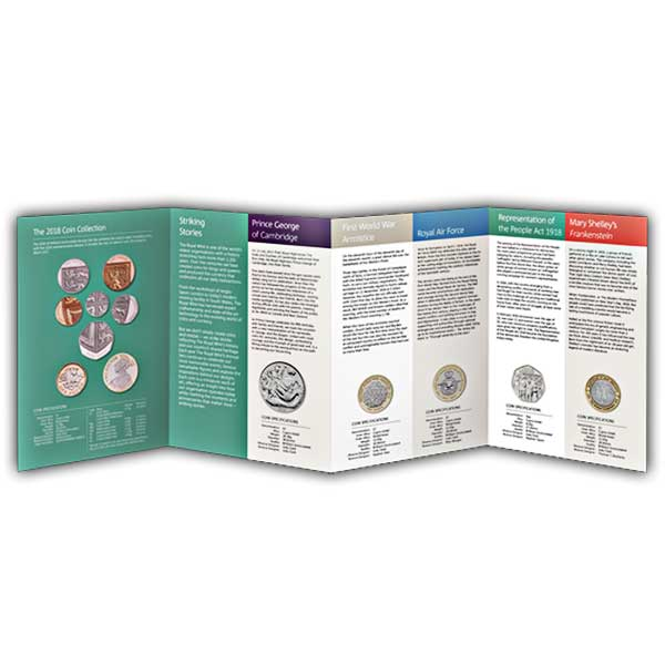 The 2018 United Kingdom Brilliant Uncirculated Annual Coin Set