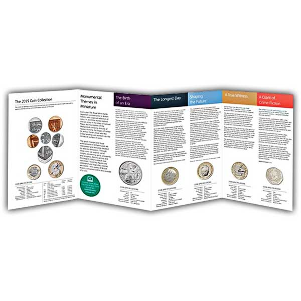 The 2019 United Kingdom Annual Brilliant Uncirculated Coin Set