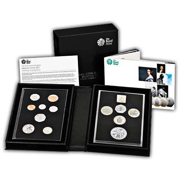 The 2019 United Kingdom Proof Coin Set