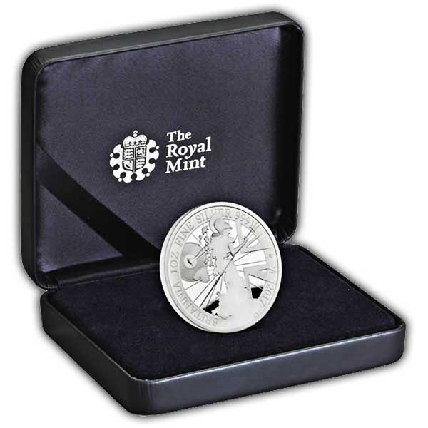 The Britannia 2017 UK One Ounce Silver Proof Coin
