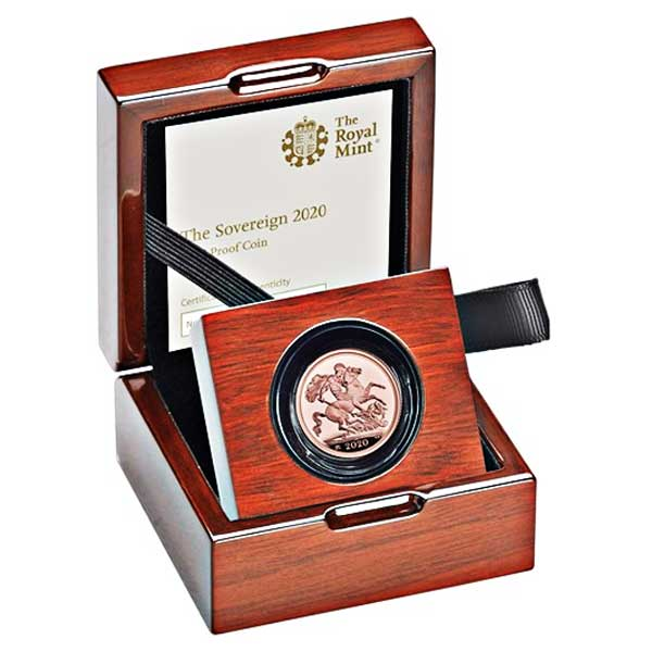 The Sovereign 2020 Gold Proof Coin