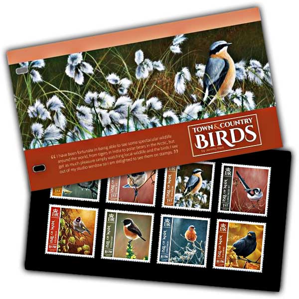 Town & Country Birds Presentation Pack