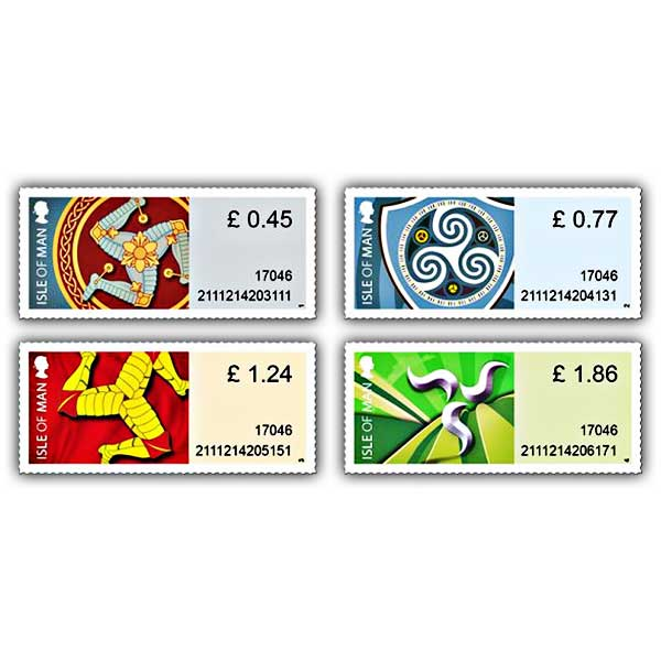 Triskelion Definitives Set (Mint)