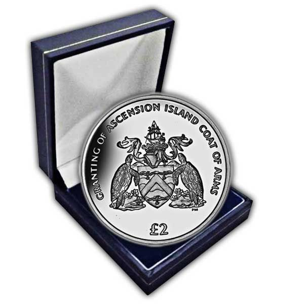 The 2013 Coat of Arms Cupro Nickel Coin