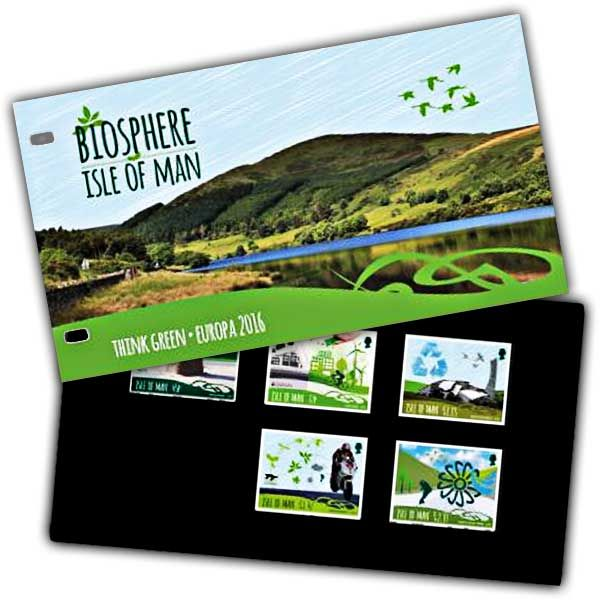 Biosphere Isle of Man Think Green Presentation Pack