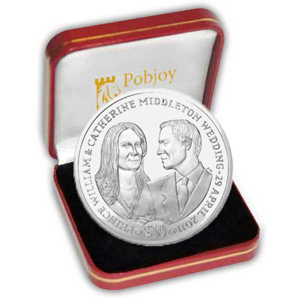 The 2011 Royal Wedding Silver Coin