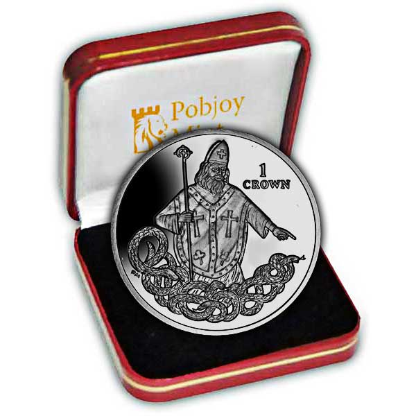 The 2013 St Patrick Commemorative Silver Coin