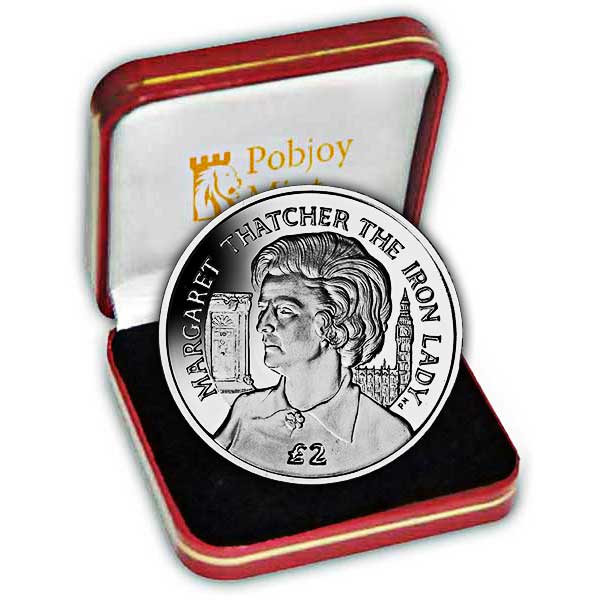 The 2013 Baroness Thatcher - The Iron Lady Silver Coin
