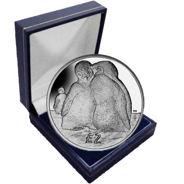 The 2013 Emperor Penguin Chicks Cupro Nickel Coin