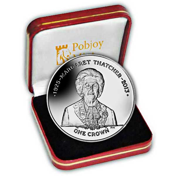 The 2013 Prime Minister Baroness Margaret Thatcher 1925 - 2013 Silver Coin