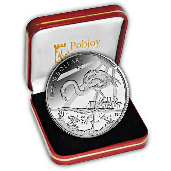 The 2015 Flamingo Silver Coin