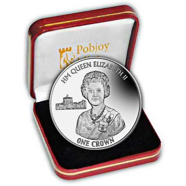 The 2016 90th Birthday Silver Jubilee Portrait Silver Coin